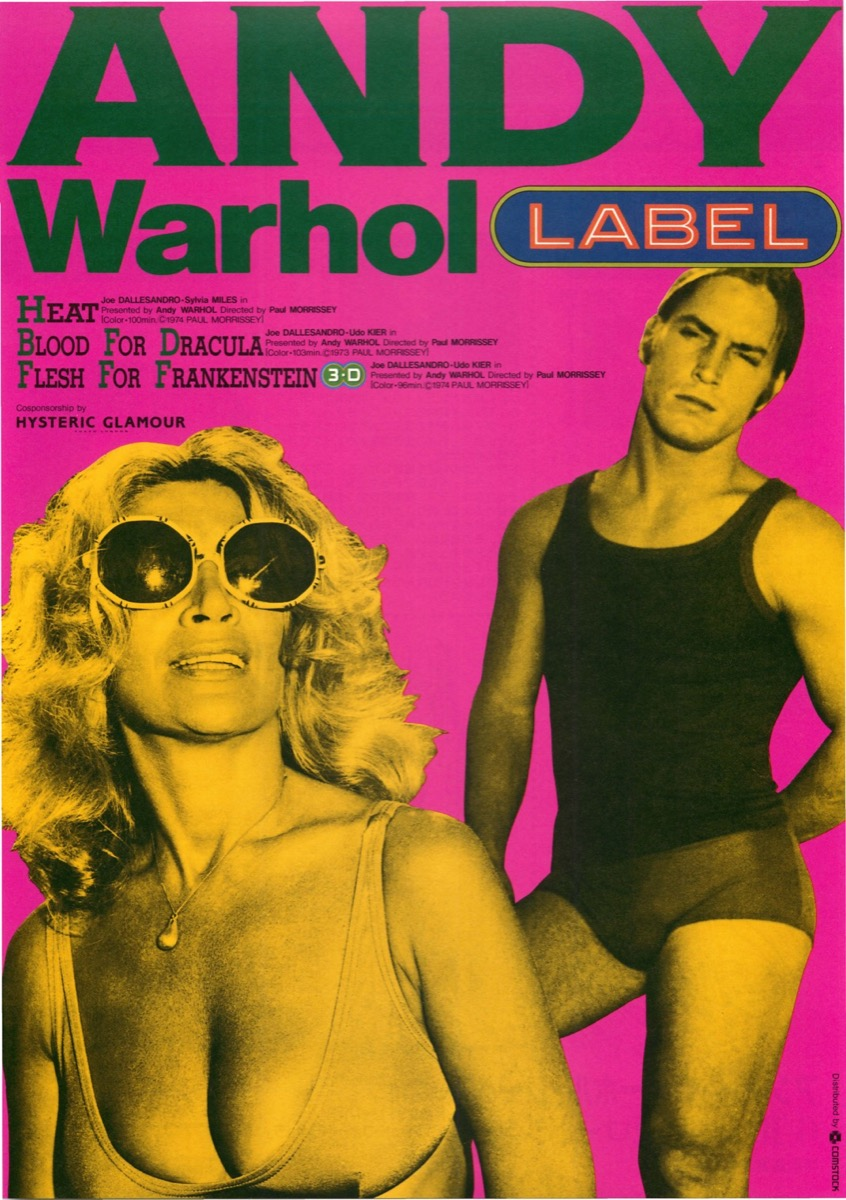 ANDY Warhol label